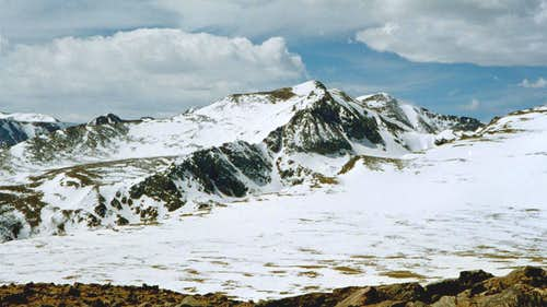 Mount Bancroft and Parry Peak