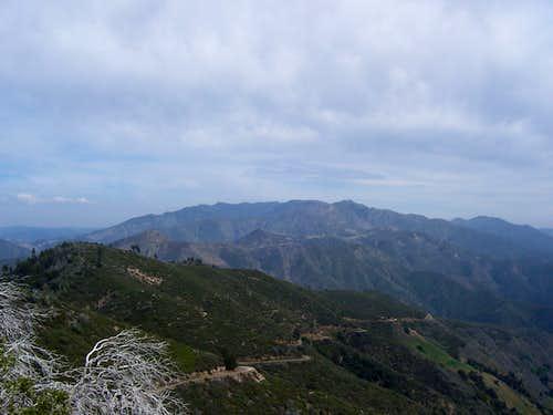 Cachuma Mountain and the Big Three