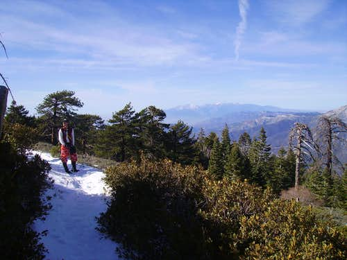 San Bernardino Peak Divide Trail