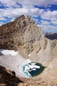 The south face of Mt. Haeckel.