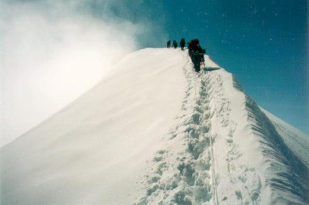 Mount Silverthrone's summit...