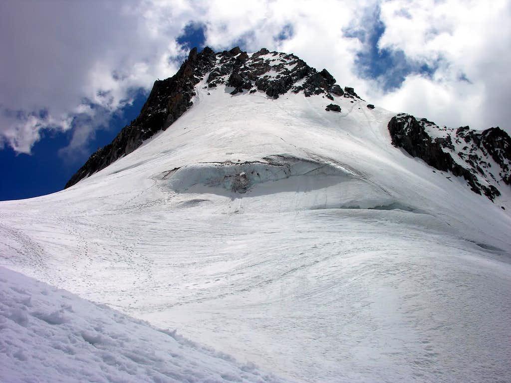 L'aiguille de Toula (3538 m)