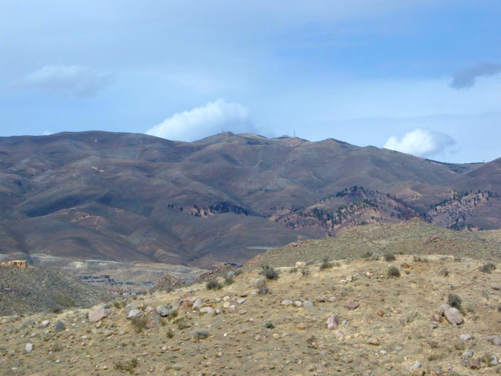 Peavine from the Steamboat Ditch