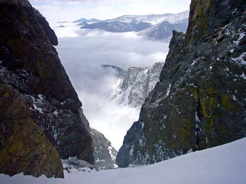 View from the Upper Couloir