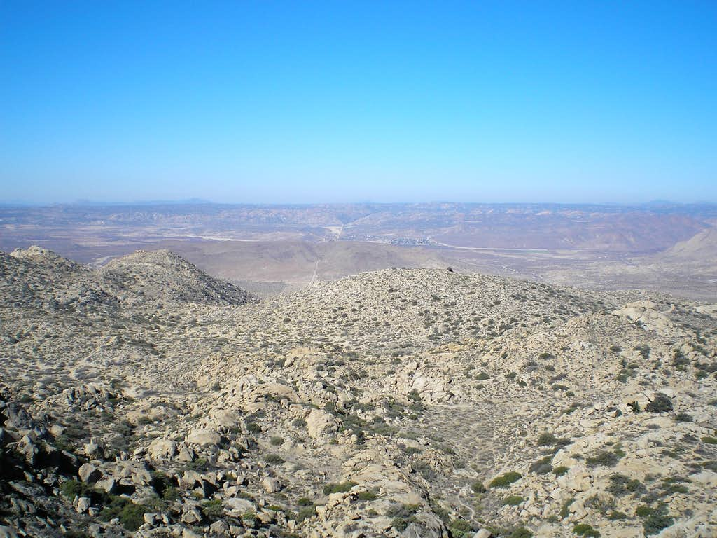 Looking West from the Summit