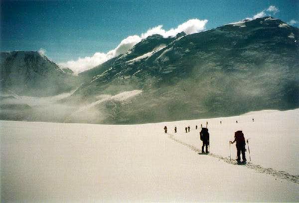 Brooks glacier