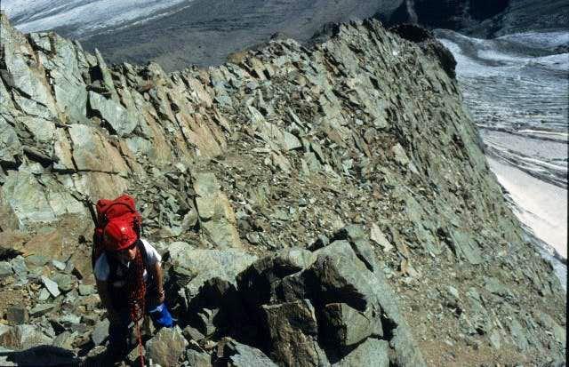 Climbing Meletzkigrat