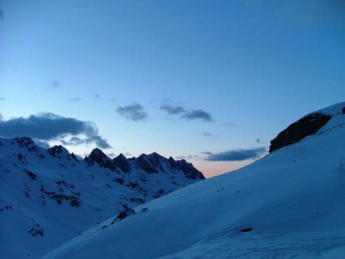 Sundown over Ochsental