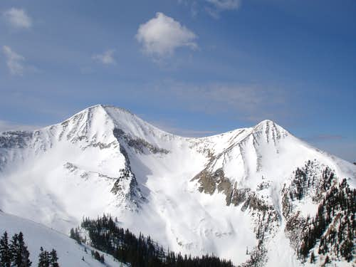 Mt Peale and Mt. Tuk