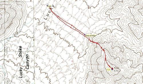 Kyle Peak GPS Trace