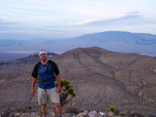 Jim on Kyle Peak