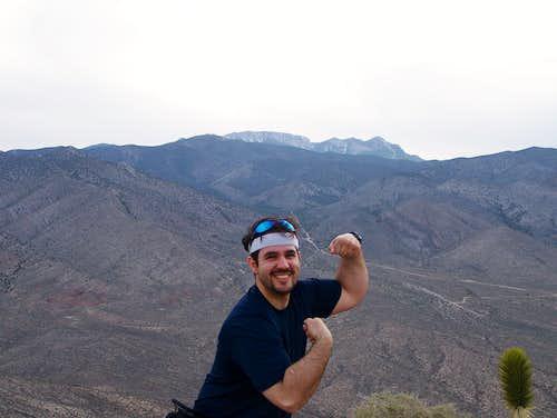 Myself on Kyle Peak