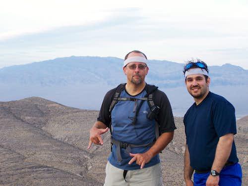 Summit shot on Kyle Peak