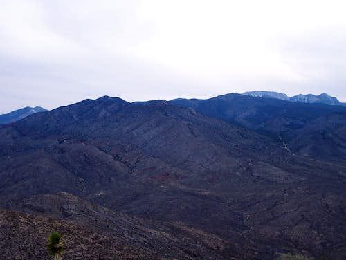 Harris Mountain and Mummy Mountain