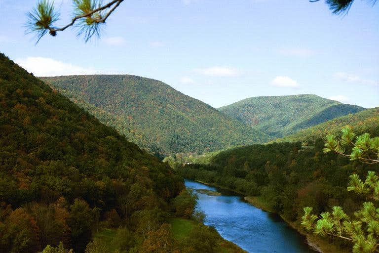 Northern Allegheny Plateau Climbing Hiking