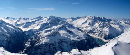 Panorama - Hoher Riffler