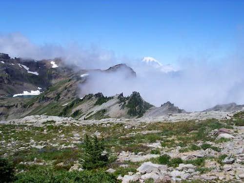 Climbing Old Snowy - 8/2003