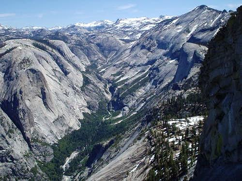 Shot of the Valley - Half Dome