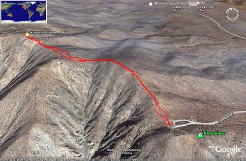 Mt. Inspiration - GPS Track