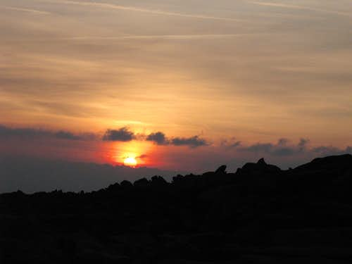 Sunrise over Glyder Fach