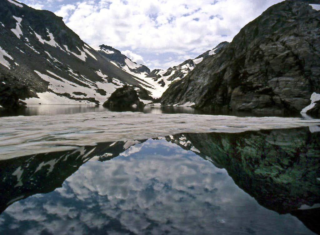 Lago Superiore  (Upper Lake) di Belle Combe <i>2374m</i>