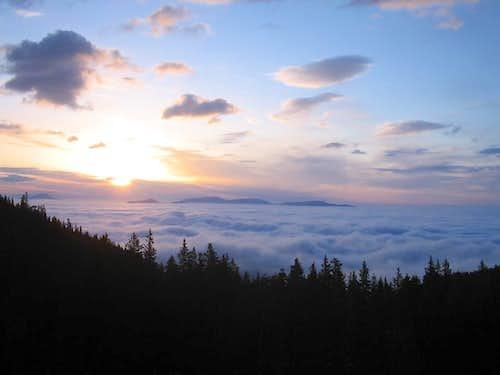 Sunrise from Shavano