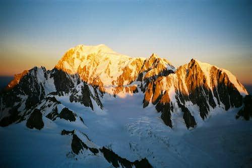 Mont Blanc - Mont Maudit - Mont Blanc du Tacul