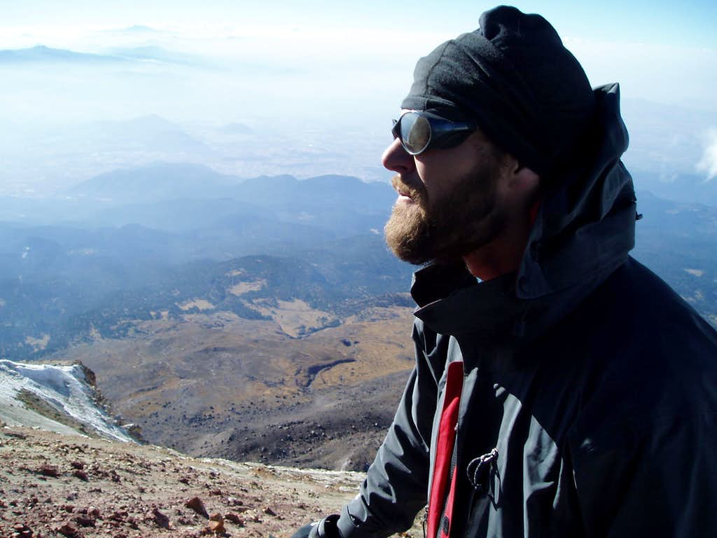 On the summit of Iztaccihuatl