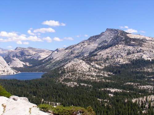 Tenaya Peak and Tenaya Lake...