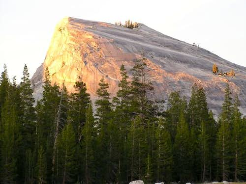 Lembert Dome at sunset from...