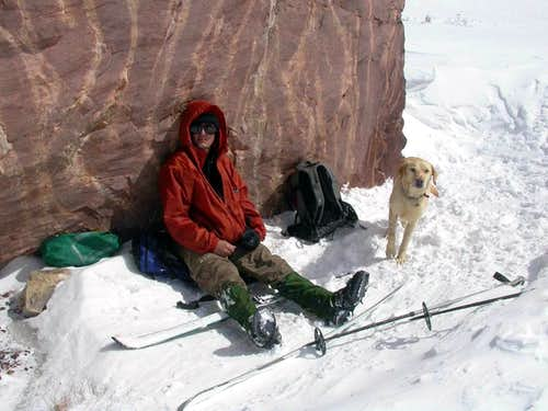 KPT07: Square Rock at the base of Gunsight