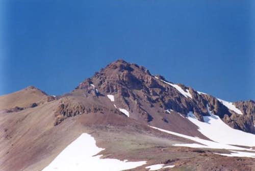 SE face of Molo Mountain
