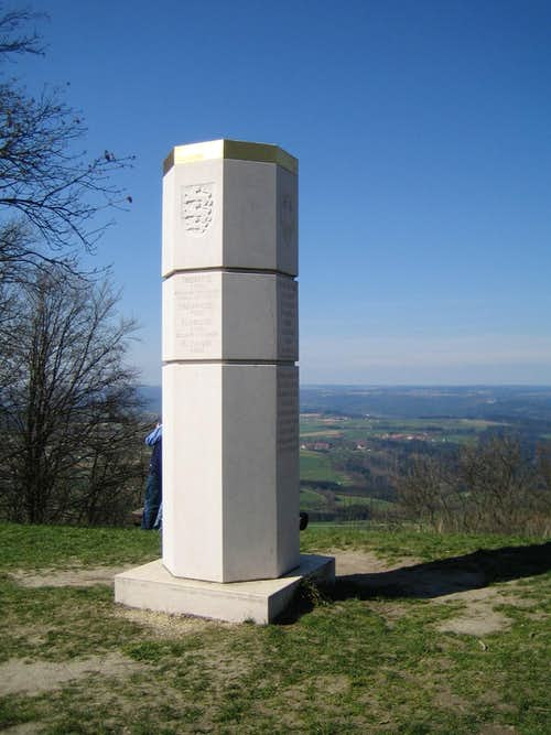 Summit monumental of Hohenstaufen