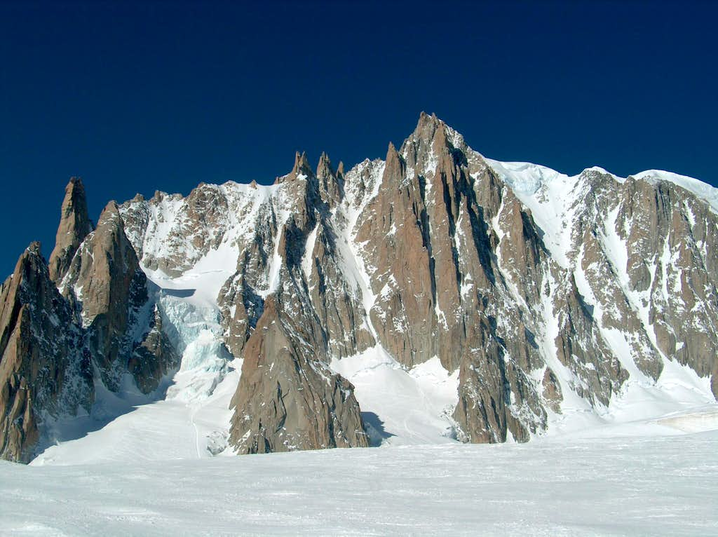 Mont Blanc du Tacul East Face
