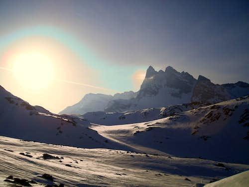 Ski touring in Val Viola