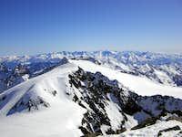 From Zuckerhütl (3507m)