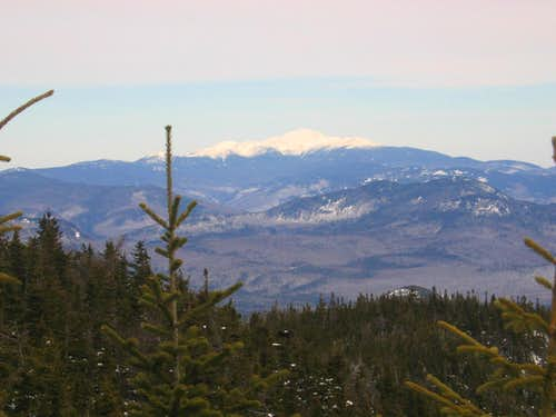 Presidentials along the Rollins Trail