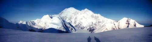 East side of Denali viewed...