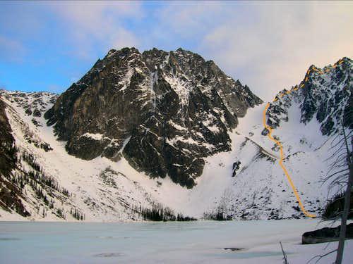 Colchuck Peak - Colchuck Col