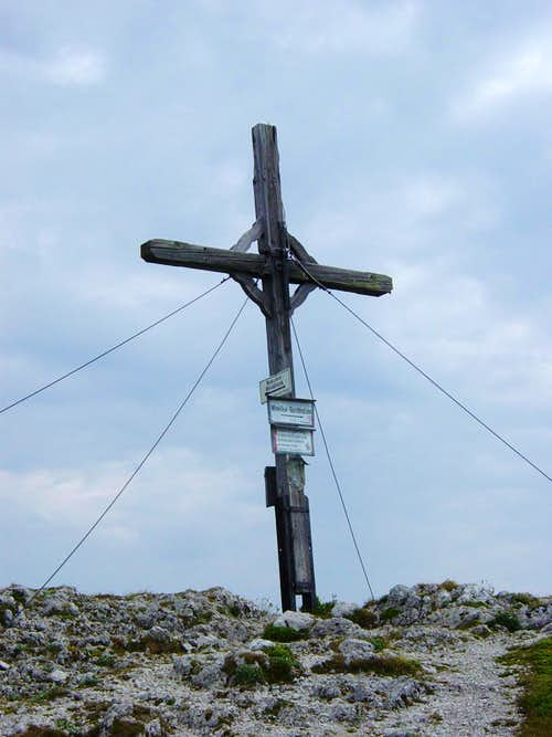 Pyramidenspitze Summit Cross