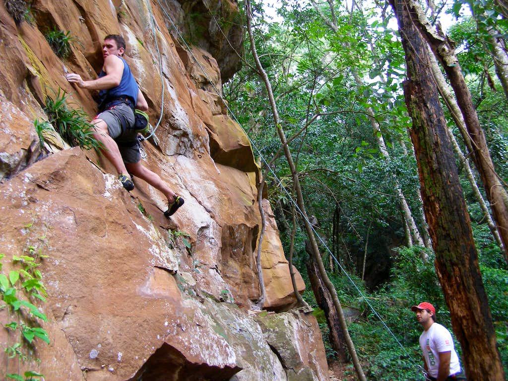 Brazil Rock Climbing