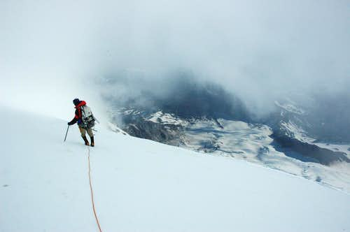 the descending action