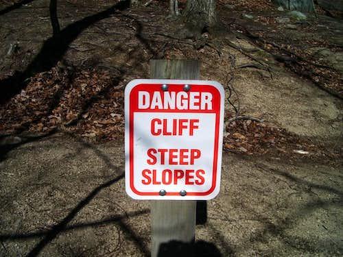 Danger Cliff!