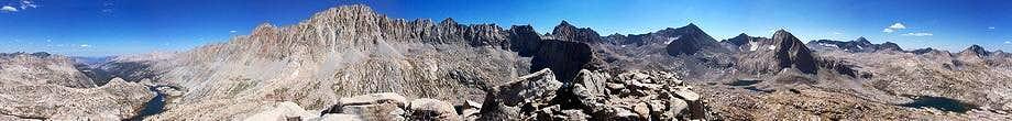 Mt Spencer summit panorama