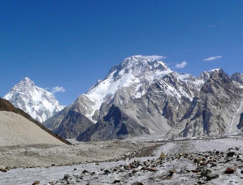 Broad peak & K2