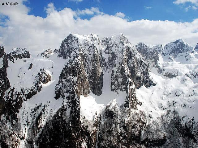 Karanfili in Prokletije Range (courtesy of Vlado Vujisic