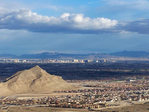 Lone Mountain and Las Vegas