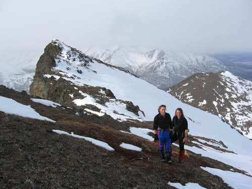Spring hiking in the Chugach