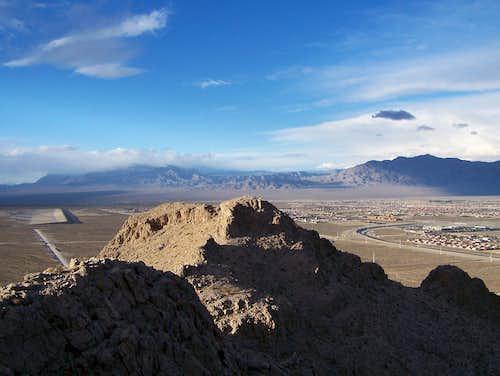 Sheep Range and Gass Peak