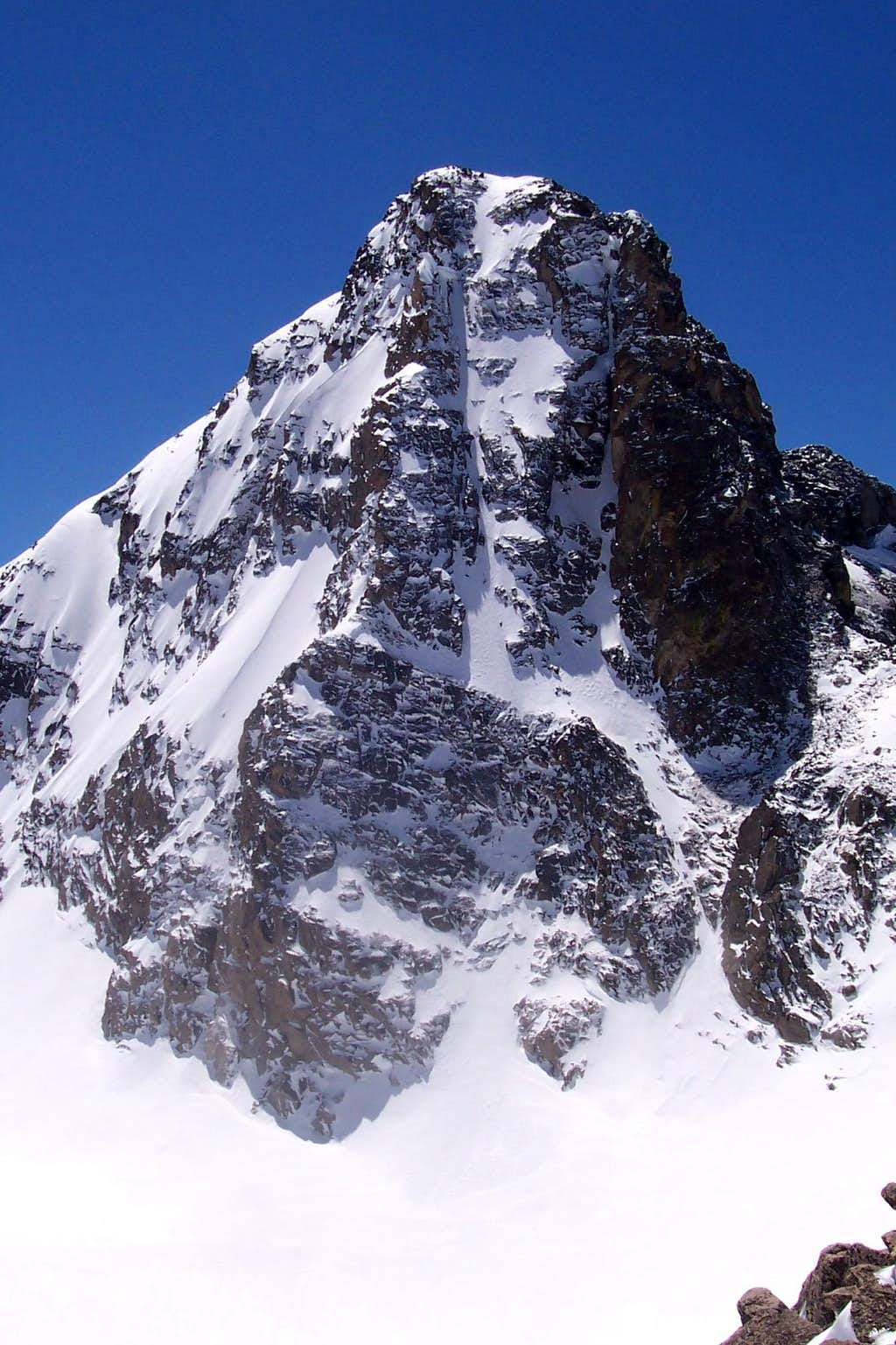 North Face of Mt Toll